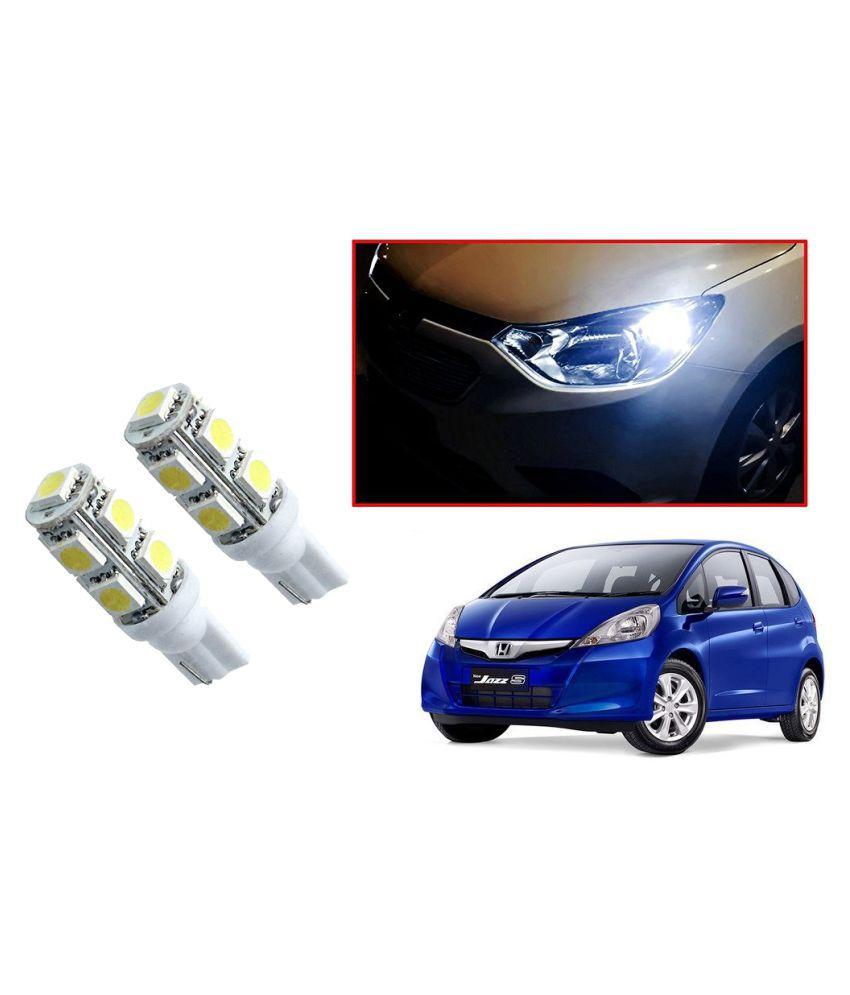 Auto Addict Car T10 9 SMD Headlight LED Bulb for Headlights,Parking Light,Number Plate Light,Indicator Light For Honda Jazz