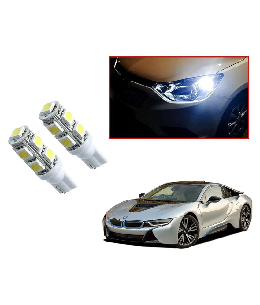 Auto Addict Car T10 9 SMD Headlight LED Bulb for Headlights,Parking Light,Number Plate Light,Indicator Light For BMW I8
