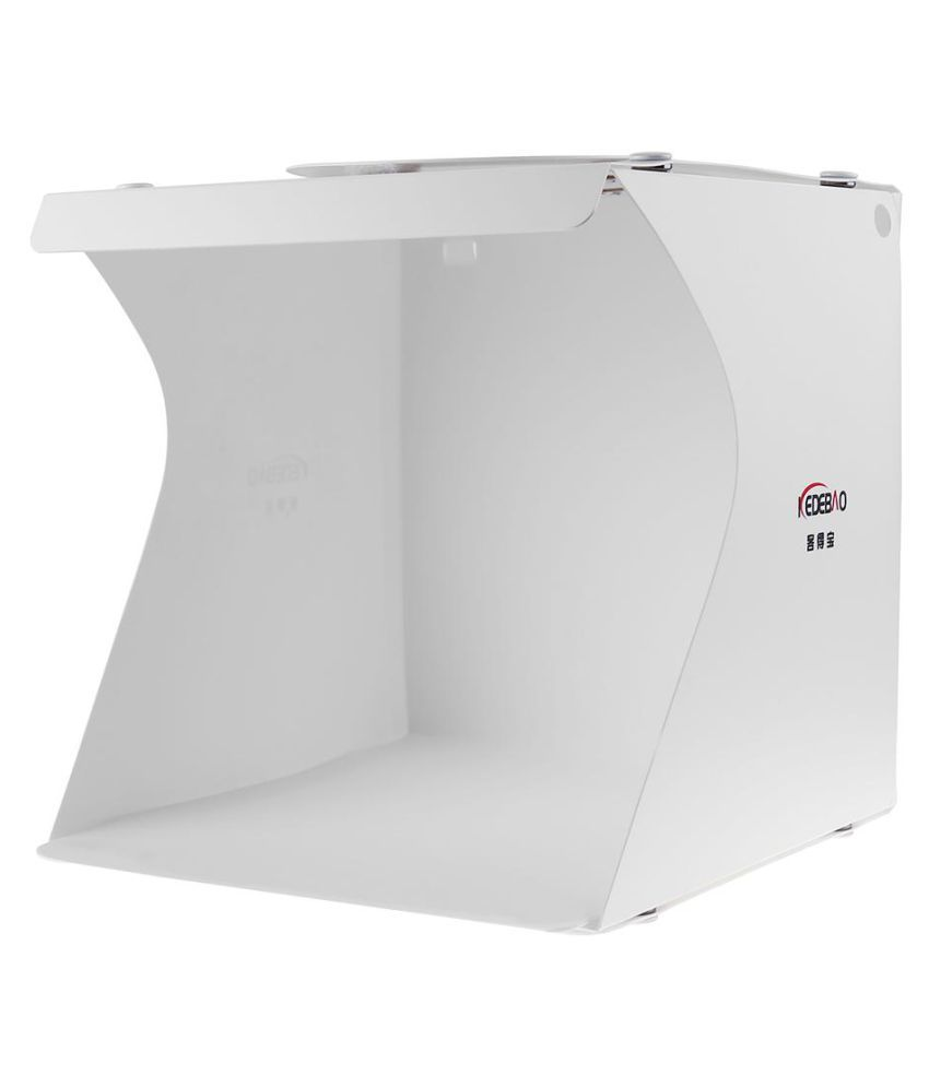 Mini Foldable Photo Studio Softbox Light Room Shooting Tent w/ LED Light (Fashion Jewellery)