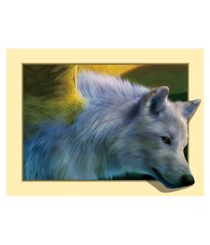 5D Diamond Painting Embroidery DIY Cross Stitch Indian Wolf Home Art Decor Craft