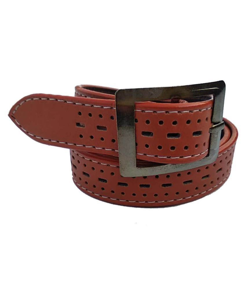 Forever99 kids PU leather Adjustable belt Free Size Up to 30
