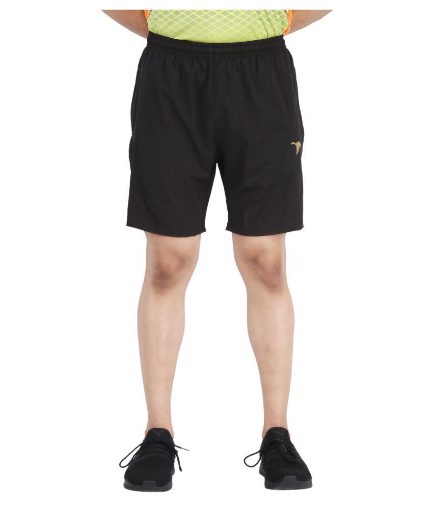 HPS Sports Black Shorts