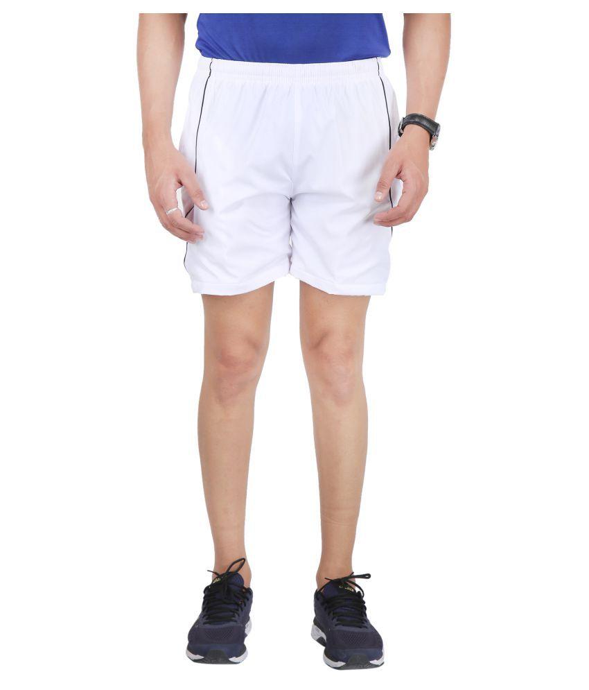 HPS Sports White Shorts