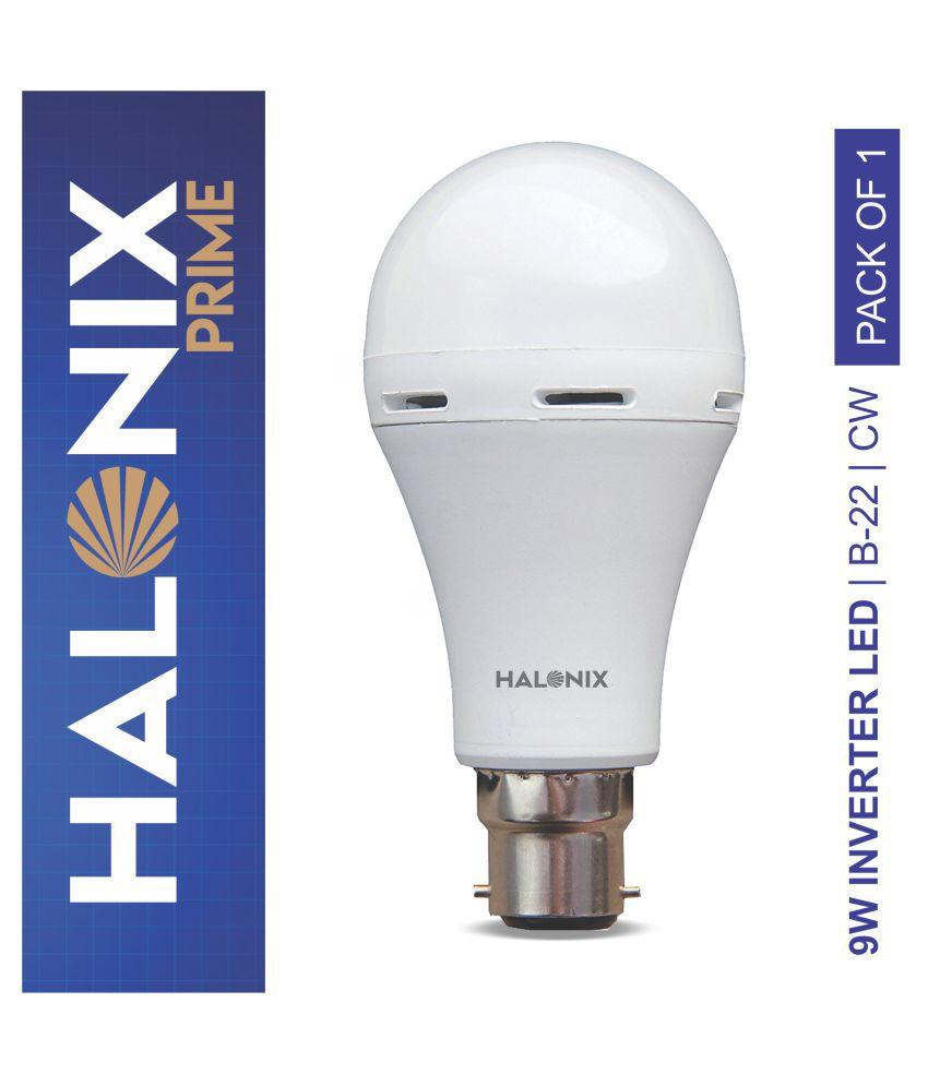 Halonix 9W LED Inverter Bulb Cool Day Light - Pack of 1