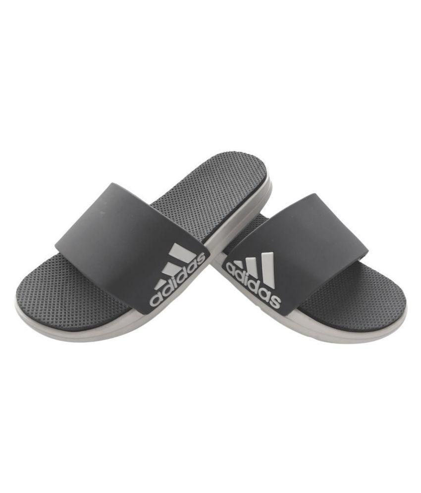 Adidas Gray Slide Flip flop Price in