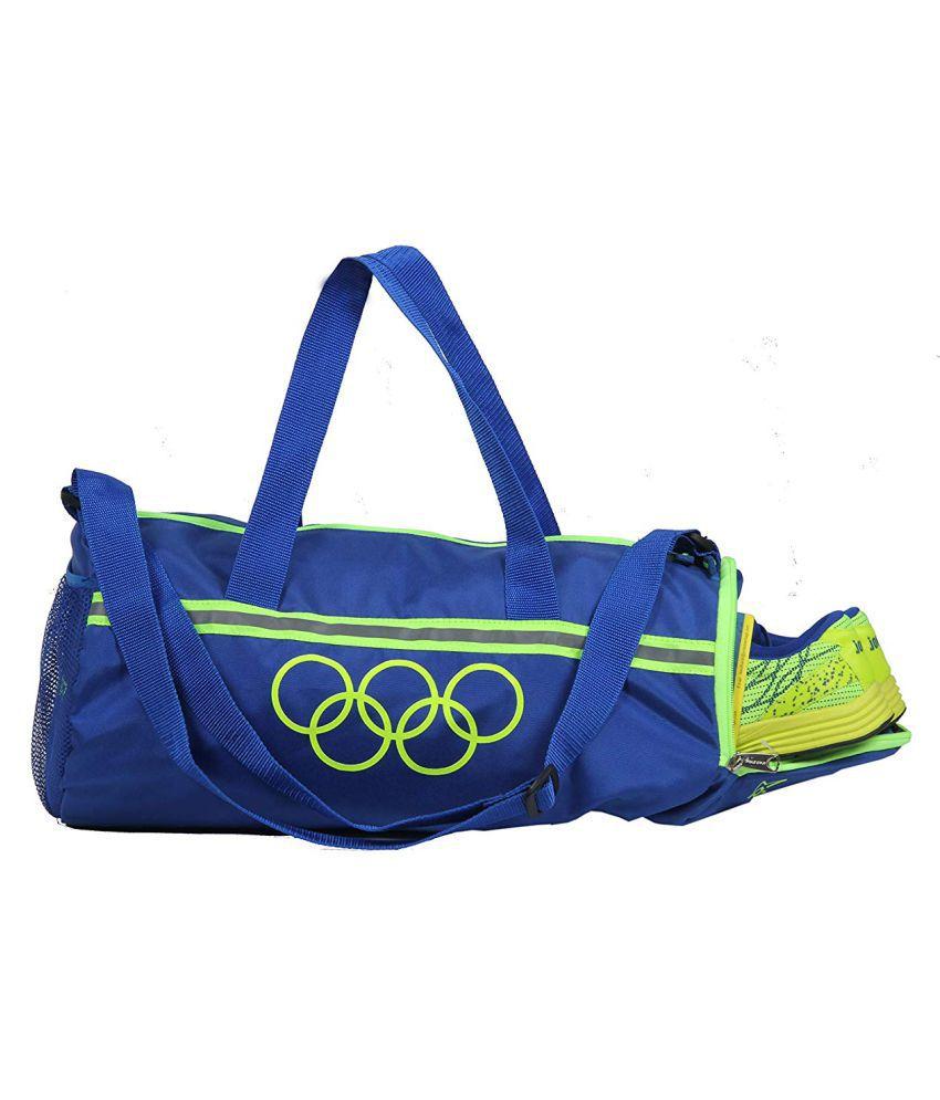 Pole Star Blue Solid M Duffle Bag