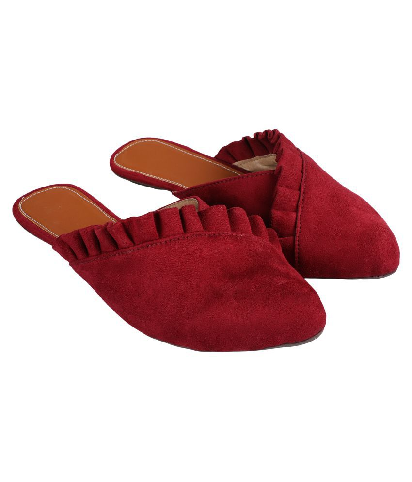 ZAVO Red Slippers