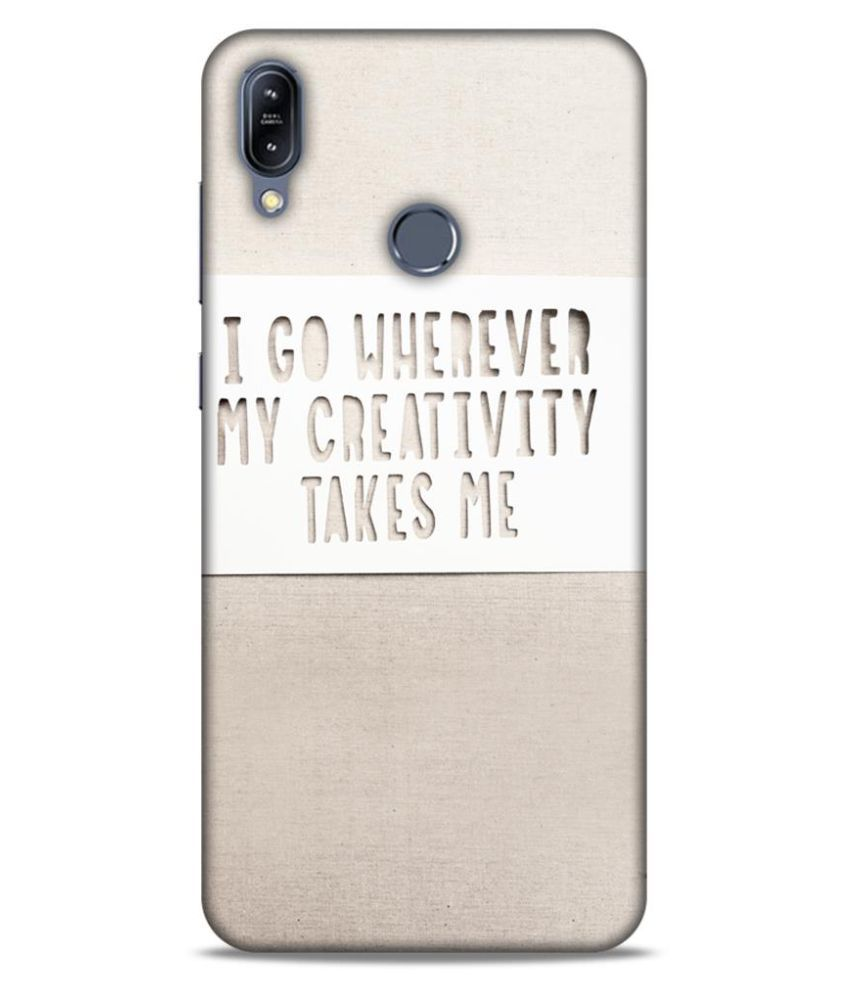 Asus Zenfone Max M2 Printed Cover By UnboxJoy Gifts