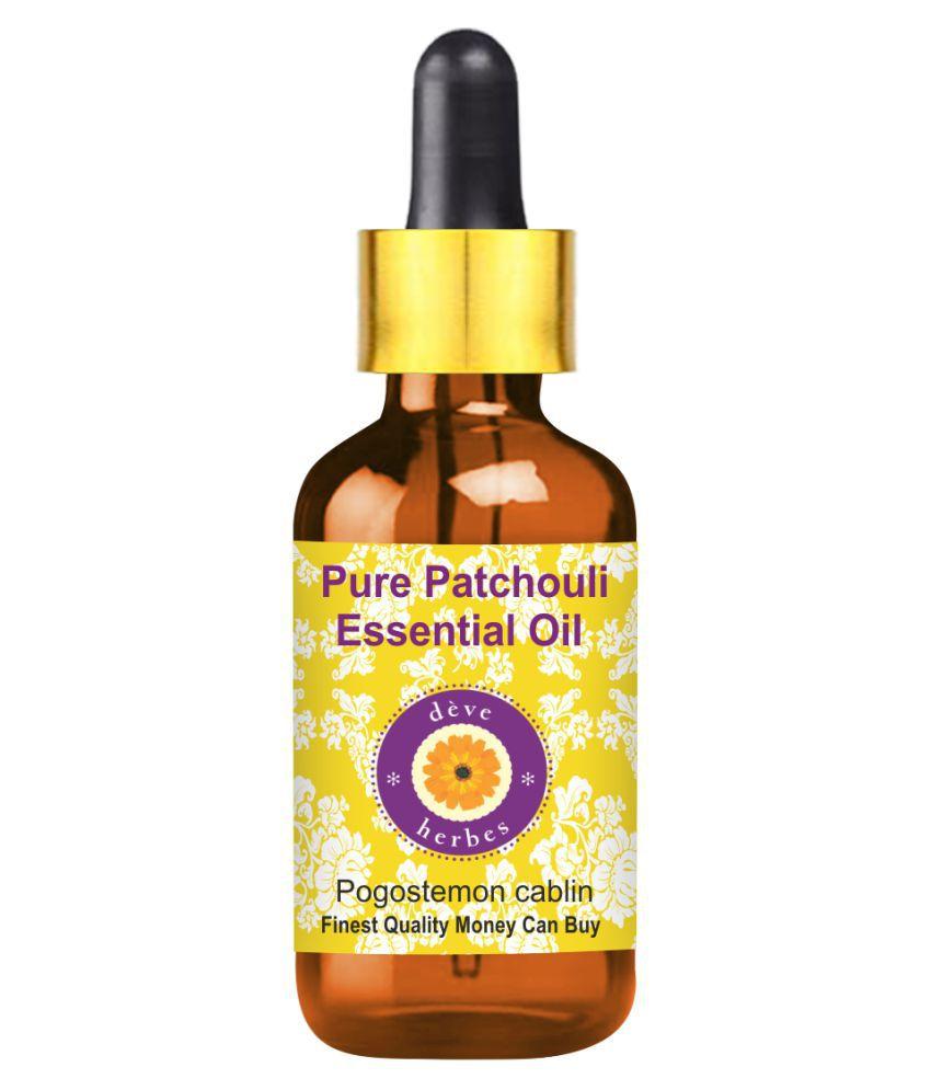 Deve Herbes Pure Patchouli Essential Oil 50 mL