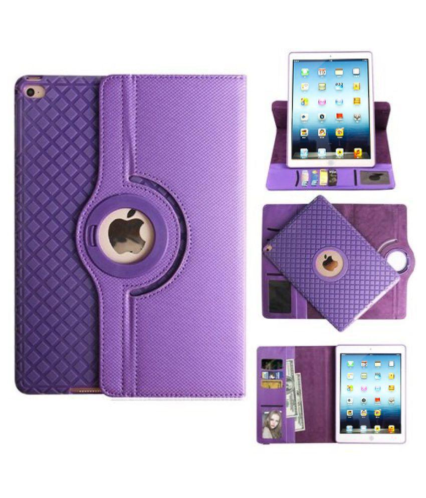 Apple iPad 3 Flip Cover By TGK Purple