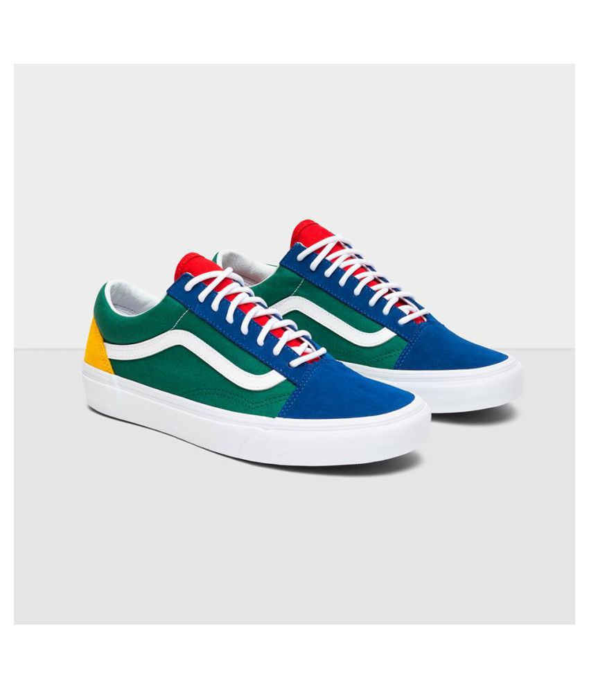 VANS 'Yacht Club' Multi Color Running Shoes