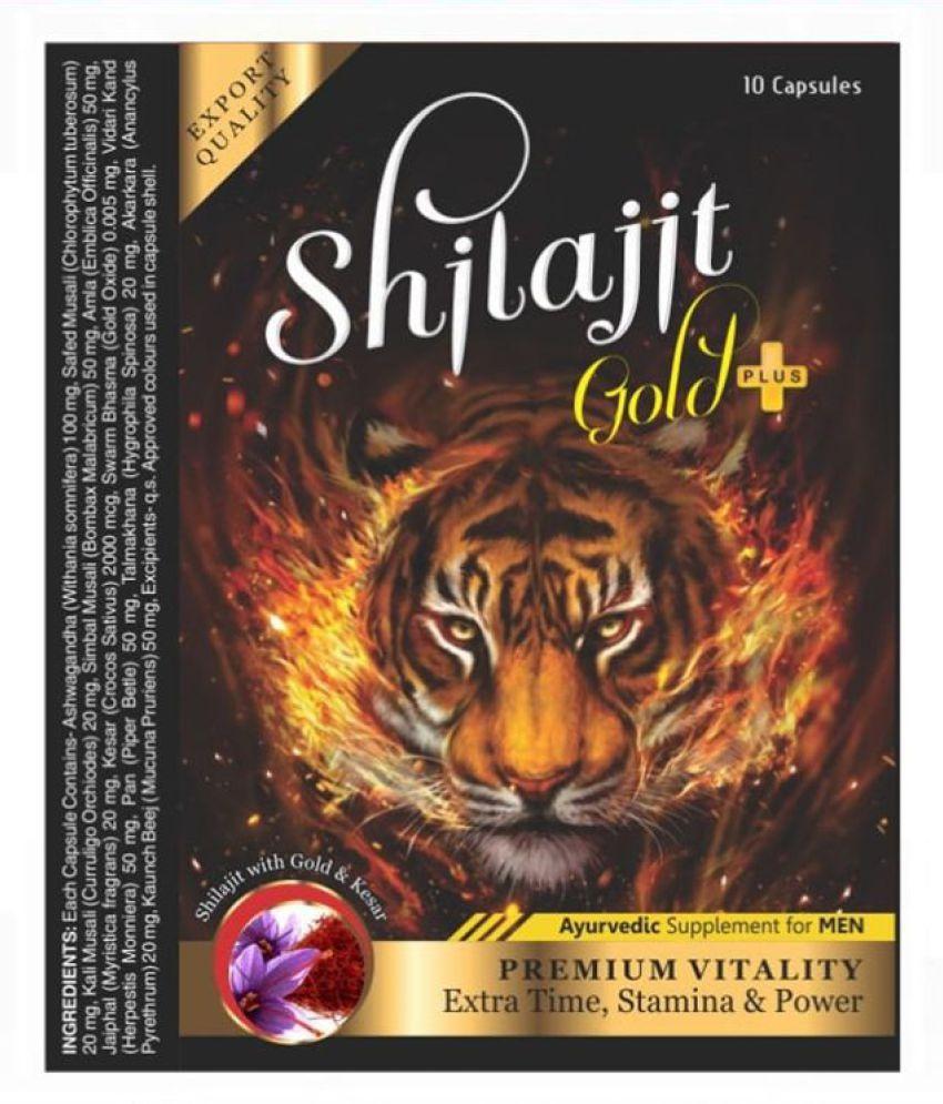 Cackle's Shilajit Gold Plus (10x3=30) Capsule 30 no.s