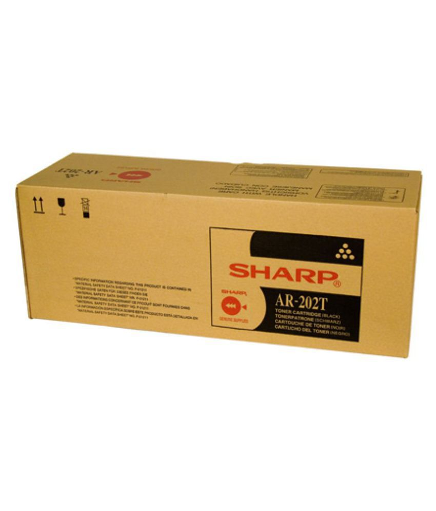 Sharp AR 202 Toner Cartridge Black Pack Of 1