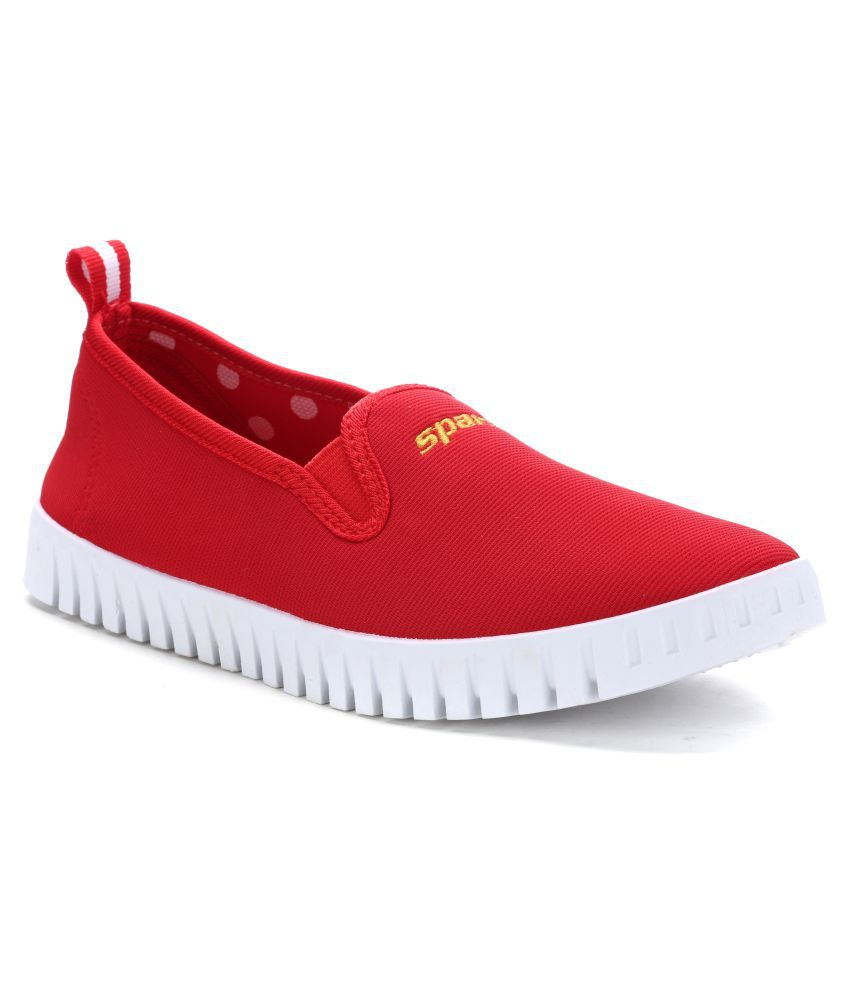 Sparx Red Casual Shoes
