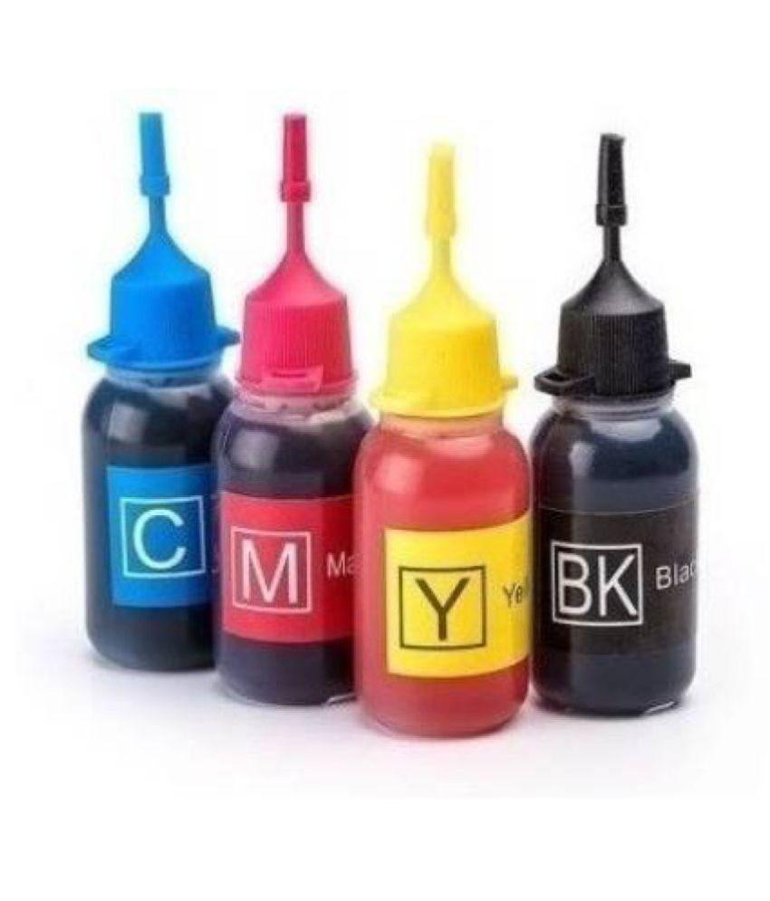 Kataria Dye Ink x 30ml Multicolor Pack of 4 Cartridge for Canon PG 810, CL 811, PG 740, CL 741, PG 745, CL 746, PG 47, CL 57 Ink Cartridges