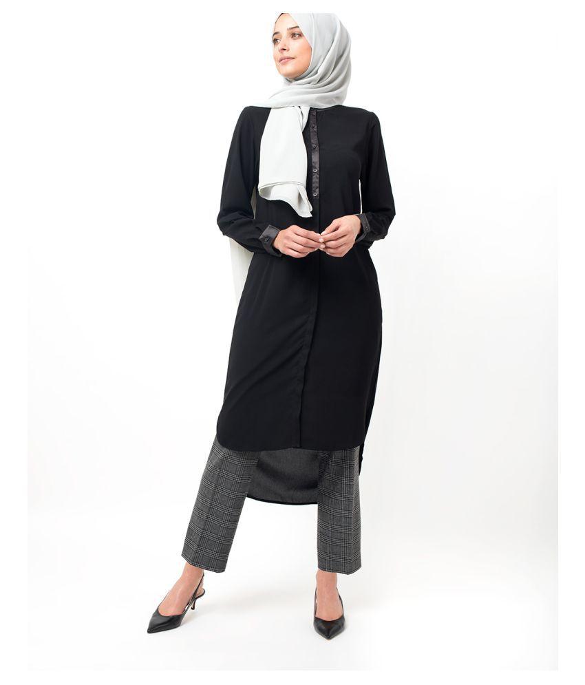 Silk Route London Black Polyester Shirt