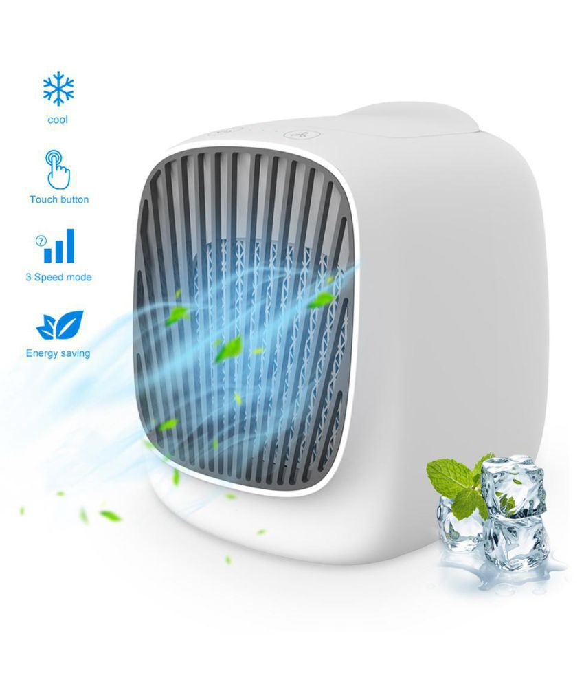Ultra Portable Mini Air Cooler 2019 Version Powered by USB Port