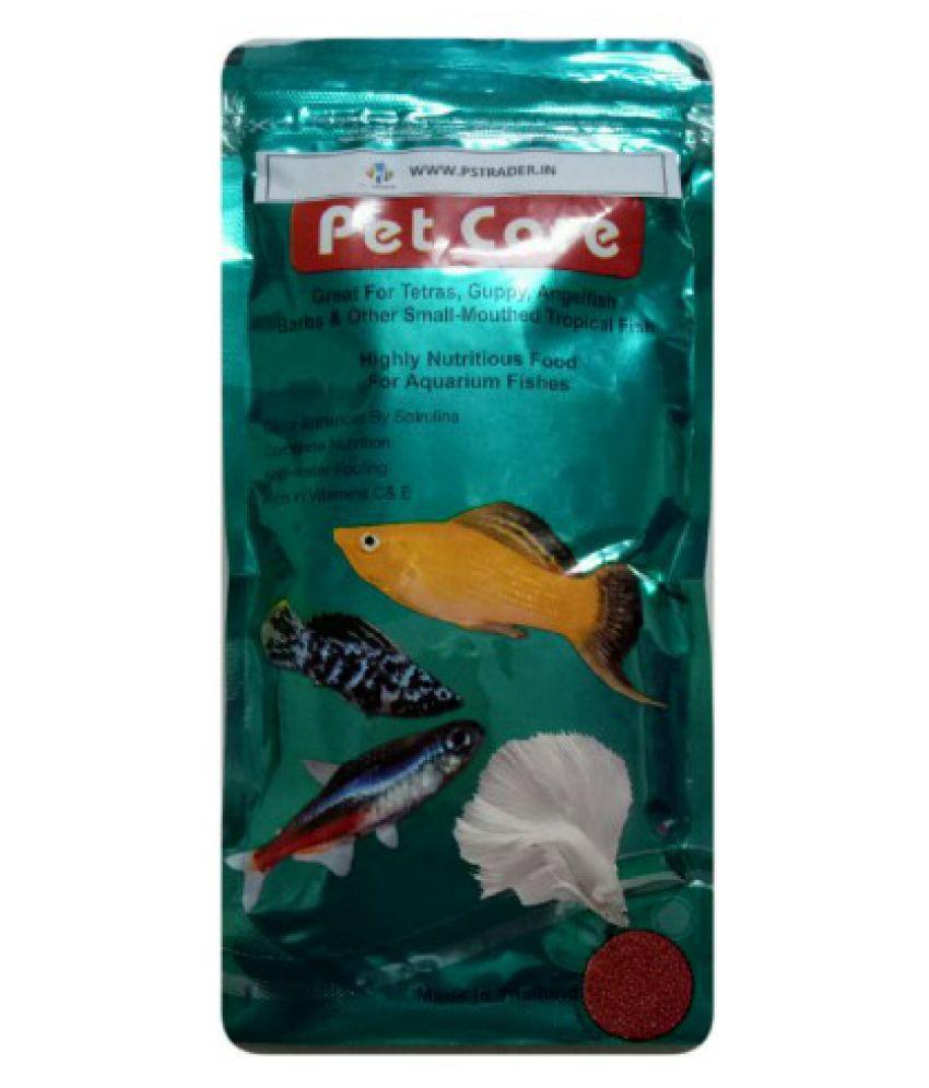 *100 Gm SMALL MOTH FISH FOOD