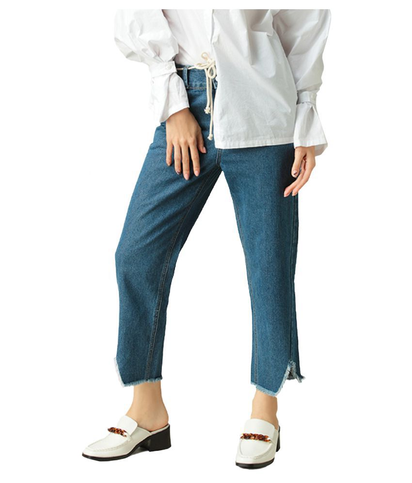 London Rag Cotton Jeans - Blue