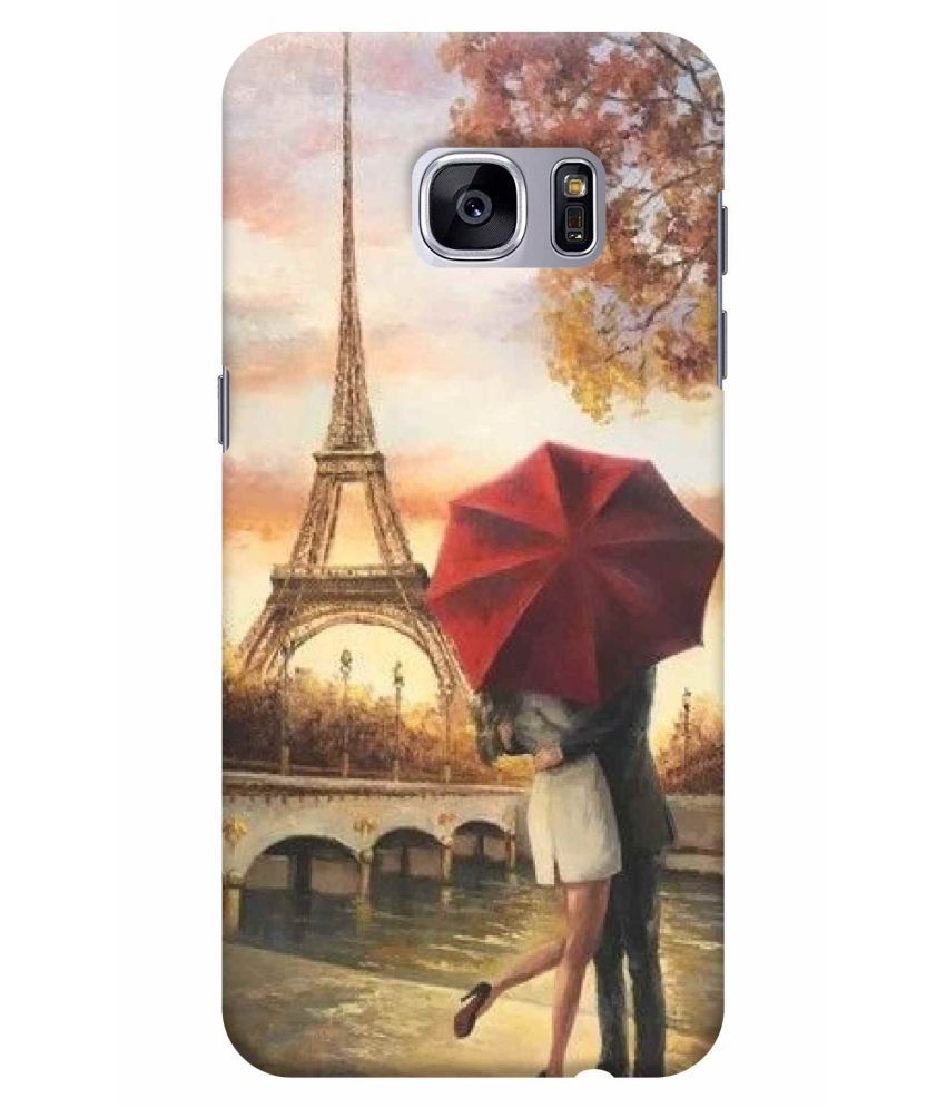 Samsung Galaxy S7 Edge Printed Cover By Class Inn Designs Full 3d Matt Finish Love Wallpaper Printed Back Covers Online At Low Prices Snapdeal India