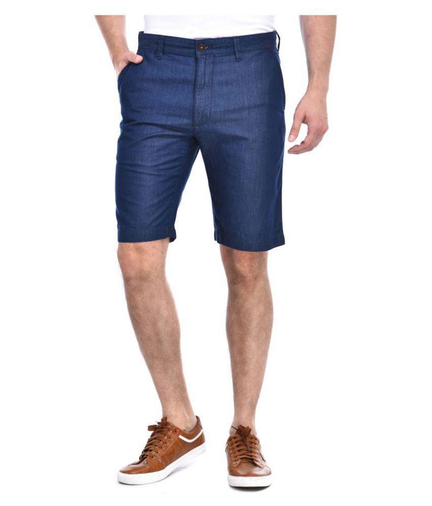 Indian Terrain Blue Shorts
