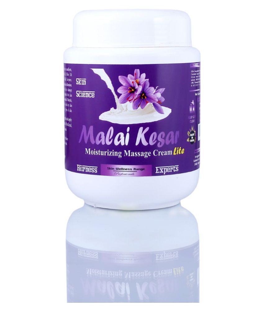 Adidev Herbals Malai Kesar High Moisturizing Facial  BB & CC Cream 1000 gm