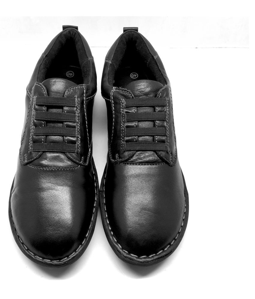 Mary Krys Black Casual Shoes