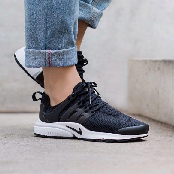 wysoka moda zniżki z fabryki oferować rabaty Nike Presto iD Black Womens Running Shoes