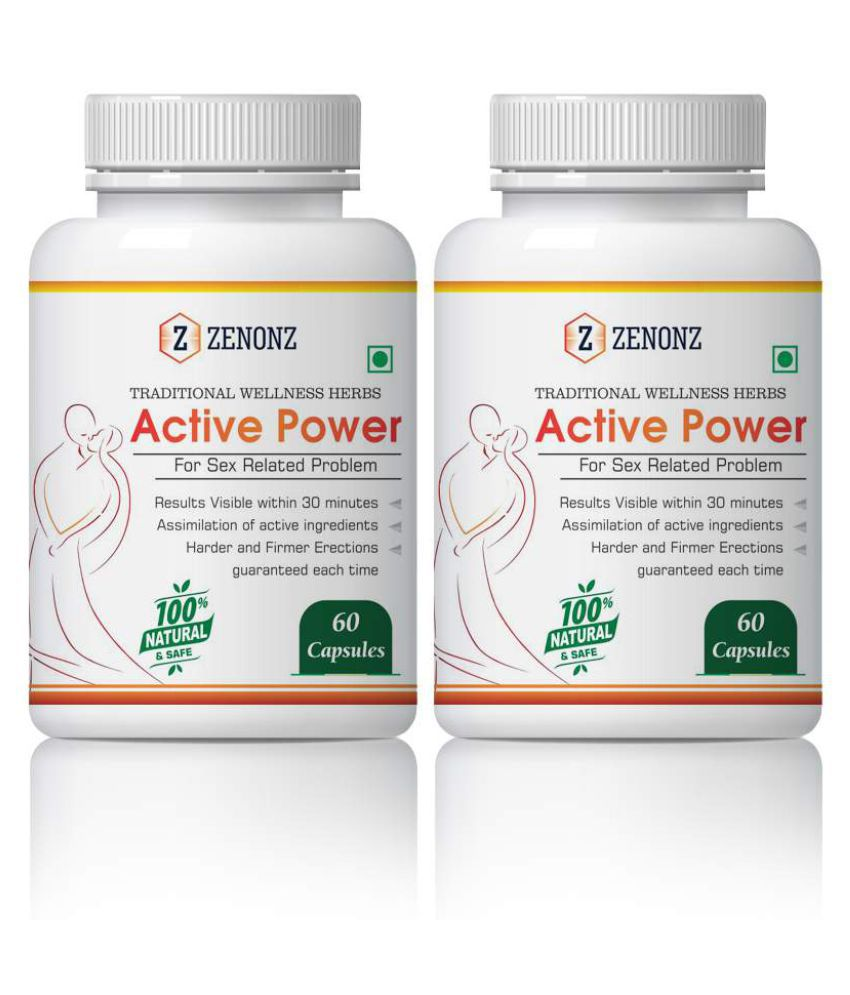 zenonz Sexuall Wellness Capsule 500 mg Pack Of 2
