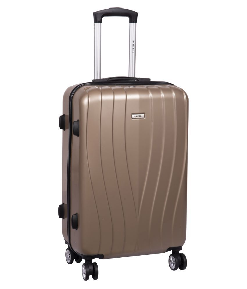 Killer Arial 778 Beige M  Between 61cm 69cm  Check in Hard Luggage 4 Wheel Travel Trolley luggage Travel Bags Travelling Suitcase