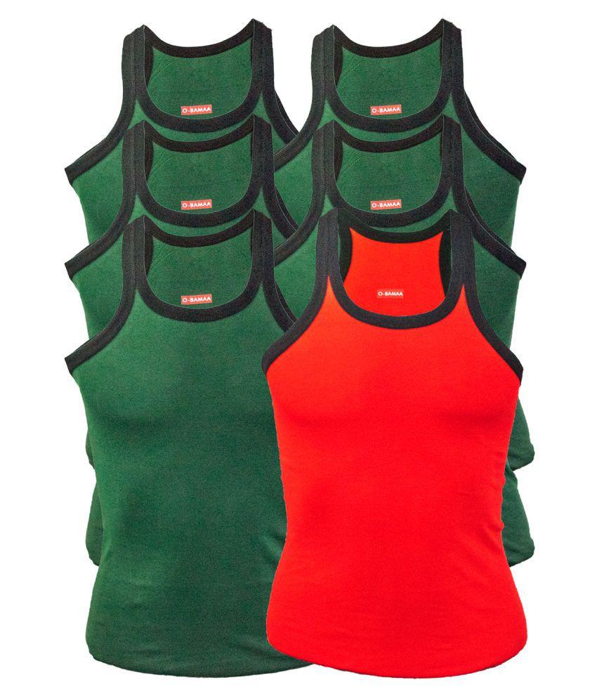 Rupa Multi Sleeveless Vests Pack of 6