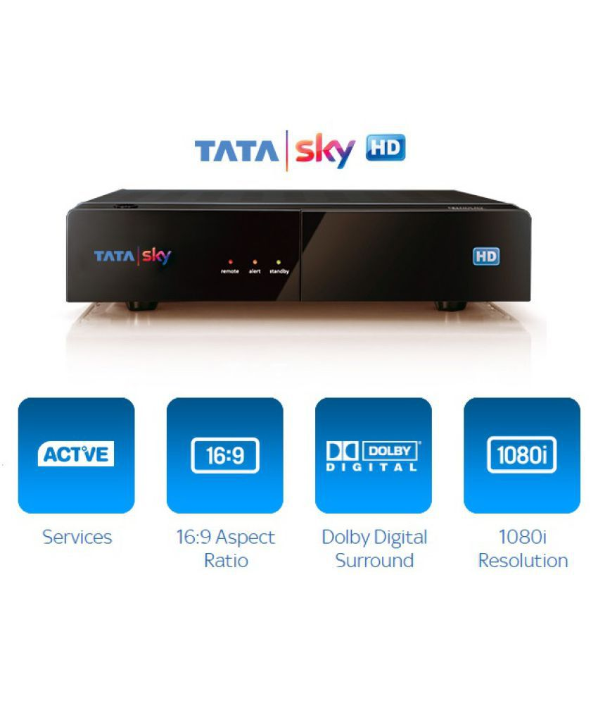 TATA Sky SD Box with One Month Malayalam Metro Pack with 1 month  Subscription Free