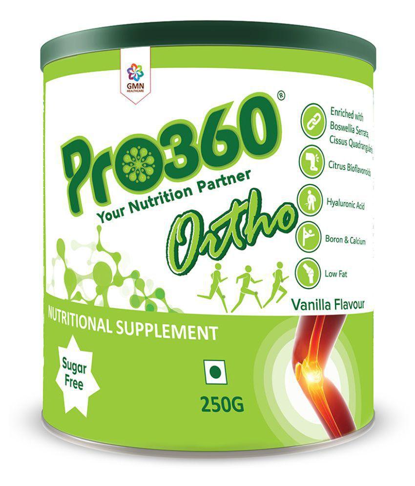 PRO360 Ortho Veg Protein Health Drink Powder 250 gm Vanilla