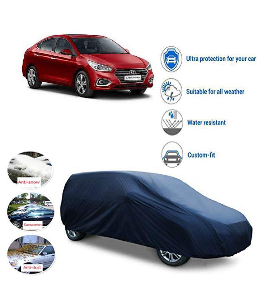 QualityBeast Car Body Cover for  Hyundai Verna Blue