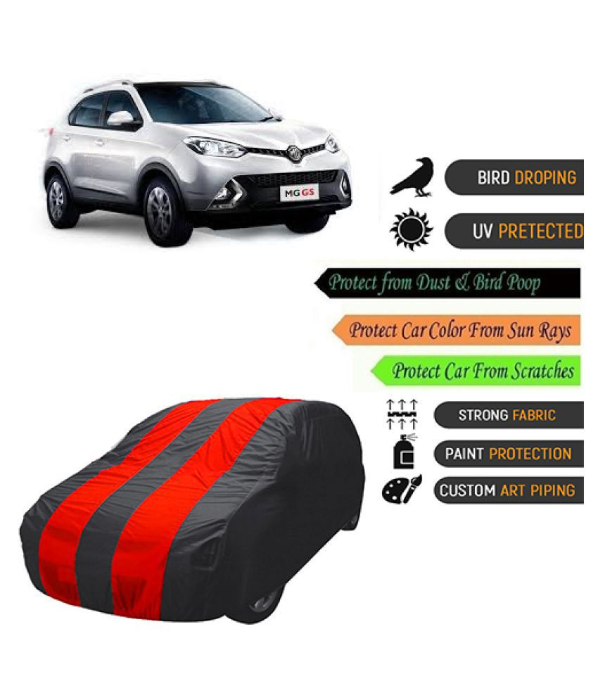 QualityBeast Car Body Cover for  MG GS Mahroon Black