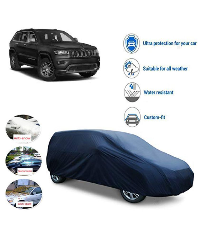 QualityBeast Car Body Cover for  Jeep Grand Cherokee Blue