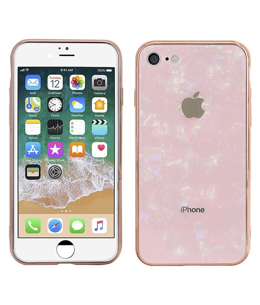 Apple Iphone 8 Marble O4U - Pink Marble Case