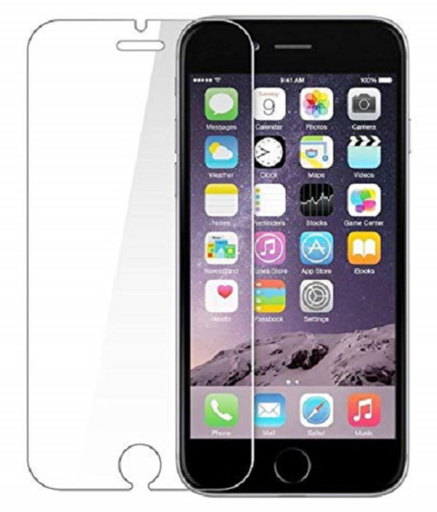 Apple iPhone SE Tempered Glass Screen Guard By Milind Accessories Scratch Proof