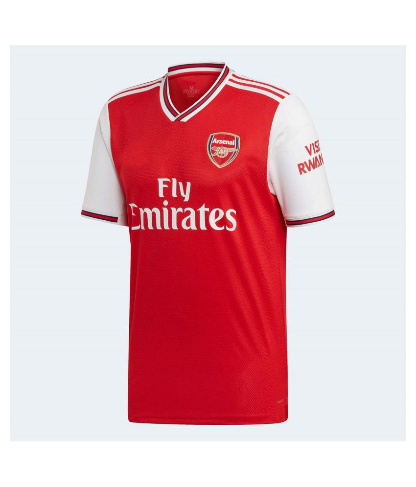 new product d4c10 02f53 Arsenal Home 19 20 Season Premium Quality Football Jersey