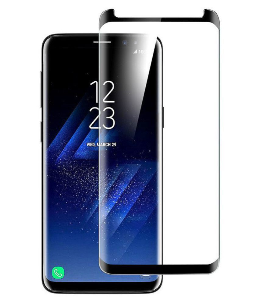 Samsung Galaxy S9 Plus Tempered Glass Screen Guard By XORB S9 PLus (Pack of 1)