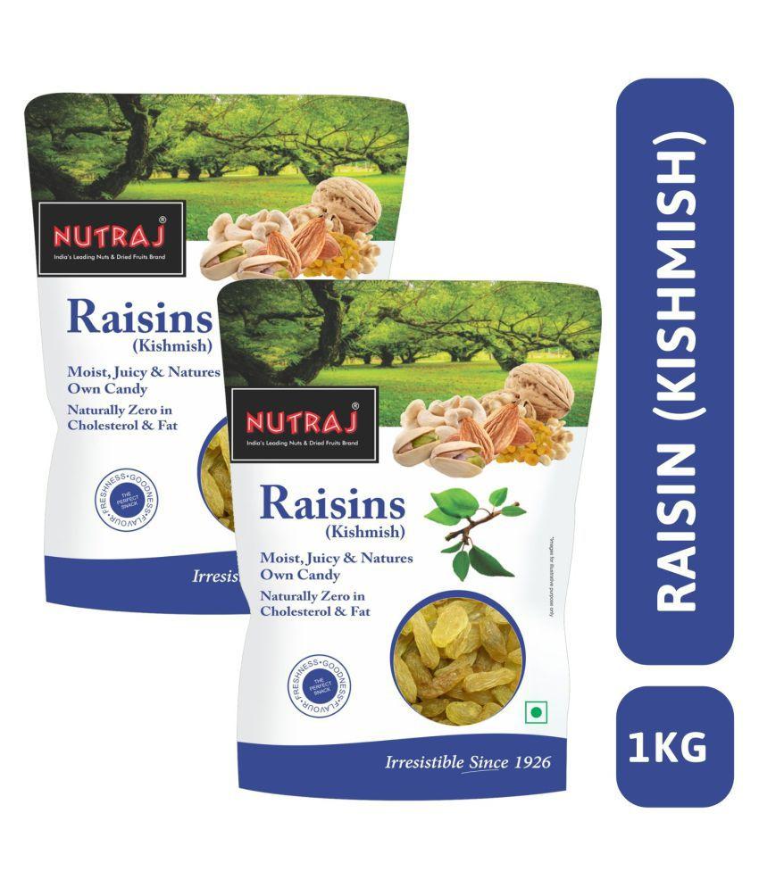 Nutraj Special Round Raisin 1 Kg  500g X 2