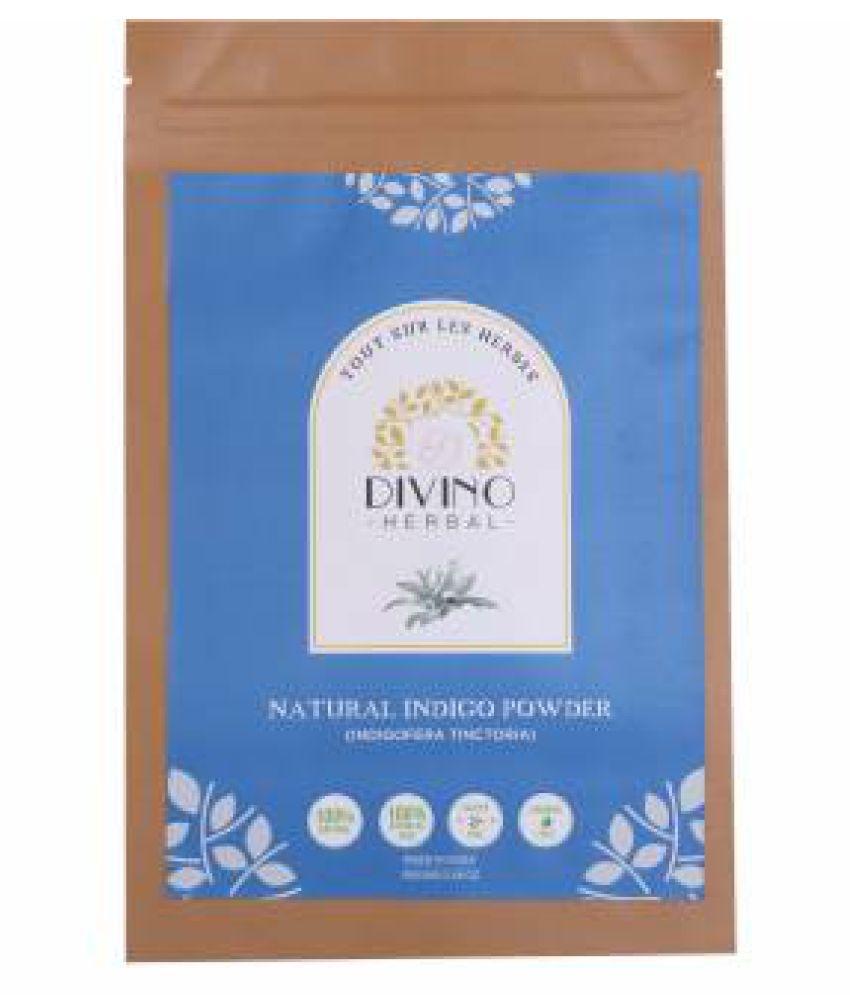 Divino's 100% Pure Indigo Leaf Powder for Hair Natural Henna 100 g