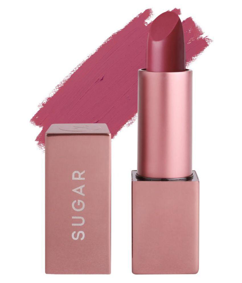 Sugar Cosmetics SUGAR Cosmetics Mettle Matte Lipstick 06 Ambrosia Purple 3 g