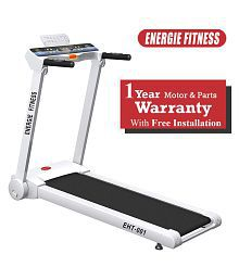 Energie Fitness EHT 001 Home use 1.25 HP (2.50 HP at Peak) Motorized Treadmill with with 1 LCD Monitor, 1 Year Warranty Exercise equipment / Exercise machine