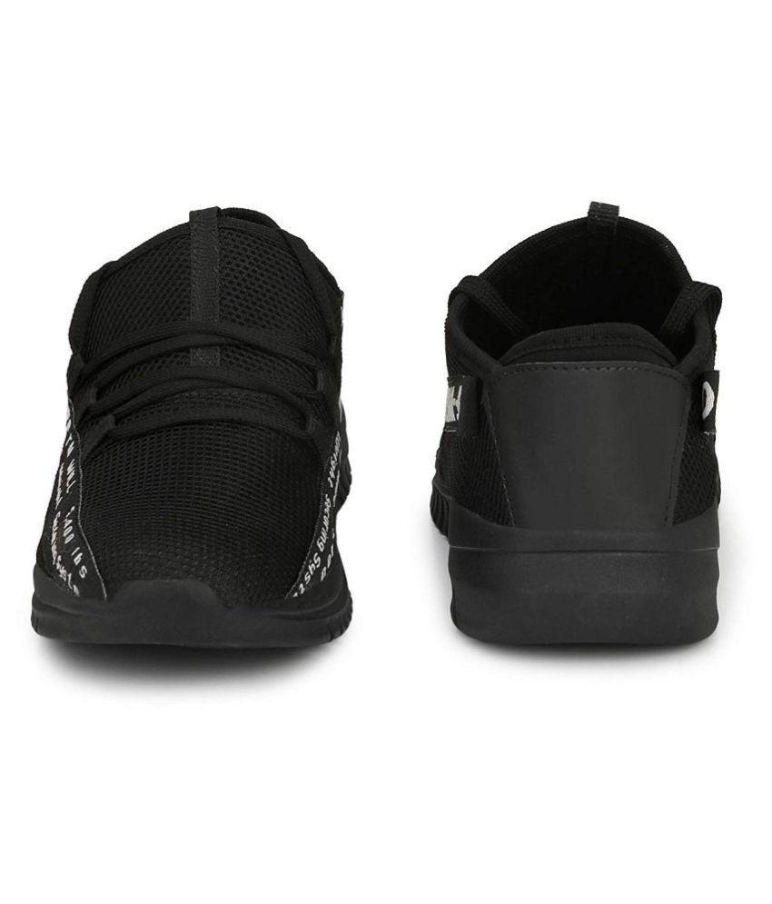 Fox Heaven Sneakers Black Casual Shoes