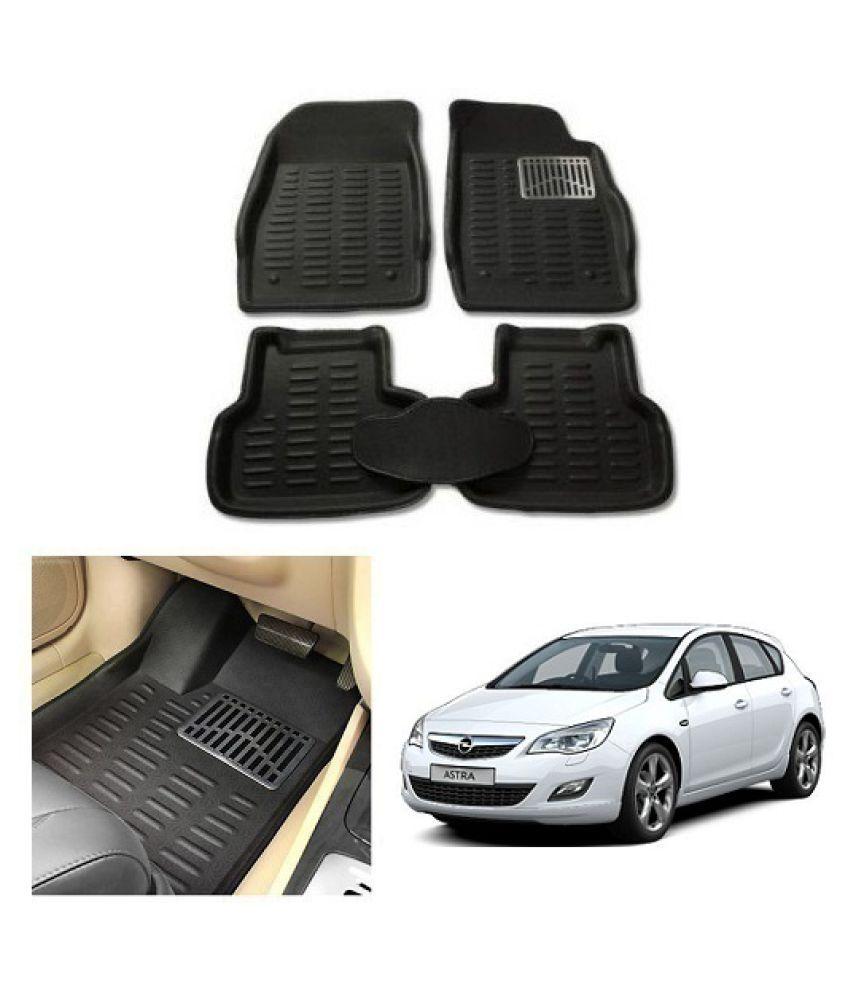 Neeb Traders Car Carpet Black Car Floor/Foot Mats for Opel Astra 10-13