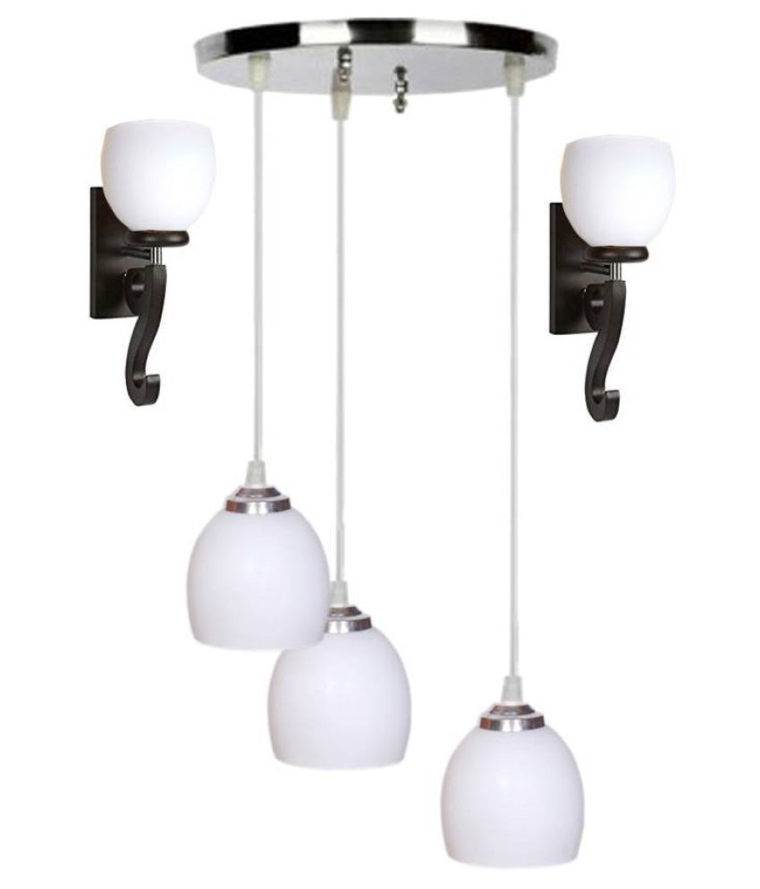 Somil Glass Exclusive Pendant Multi - Pack of 3