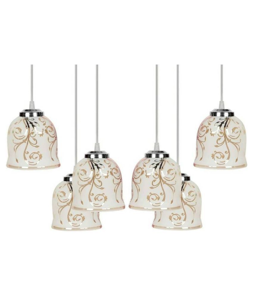 Somil Glass Exclusive Pendant Multi - Pack of 2