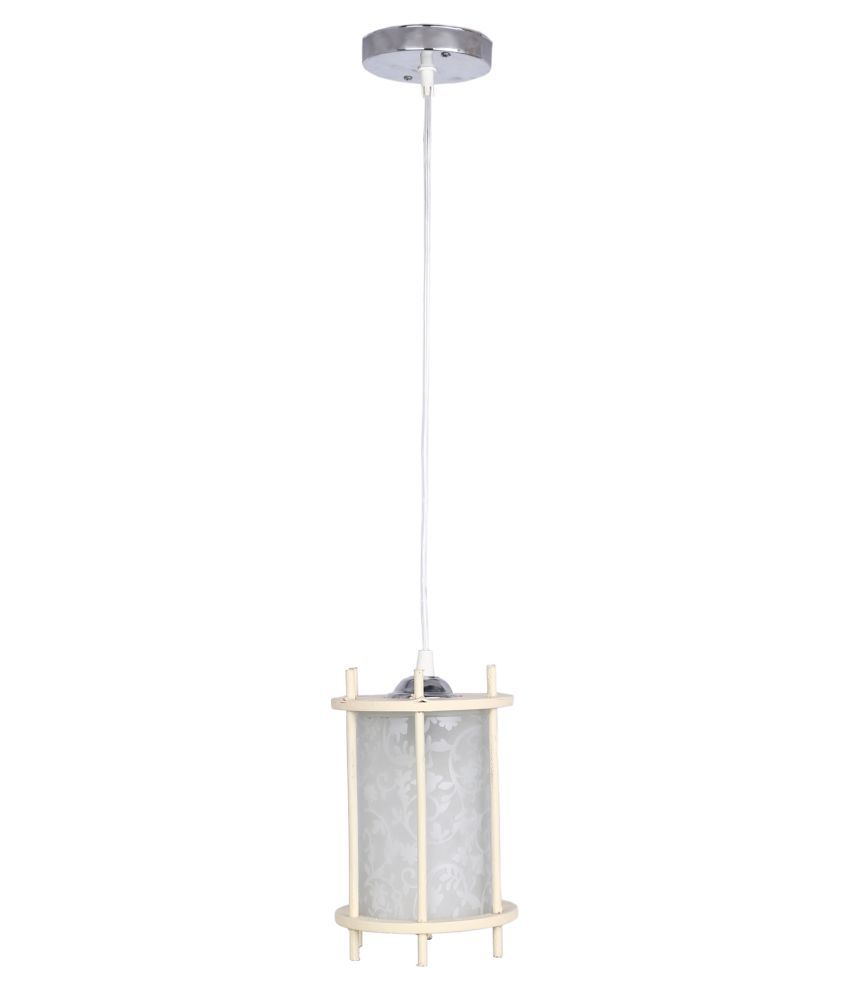 Somil Glass Exclusive Pendant White - Pack of 1