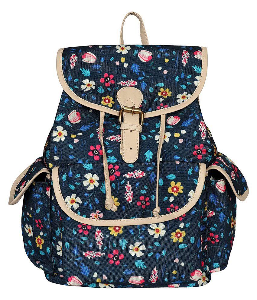 Lychee Bags Blue School Bag for Girls